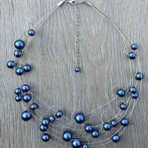 Ketting Janelle in Donkerblauw