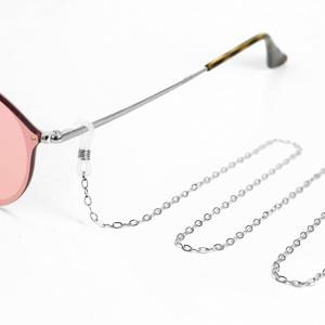 Zonnebril koorden van Roestvrij staal (RVS) Zilver schakel