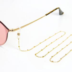 Zonnebril koorden van Roestvrij staal (RVS) Goud