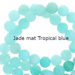 jade mat Tropical blue