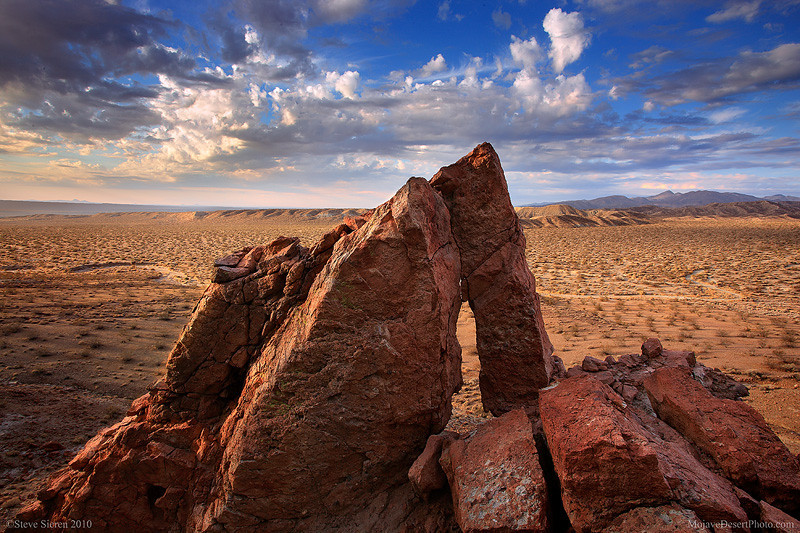New arch in the Mojave Desert