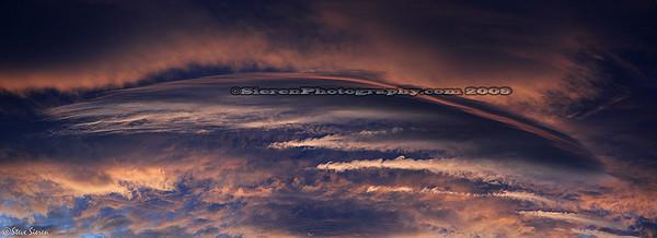Lenticular Sky from the Sierra Crest