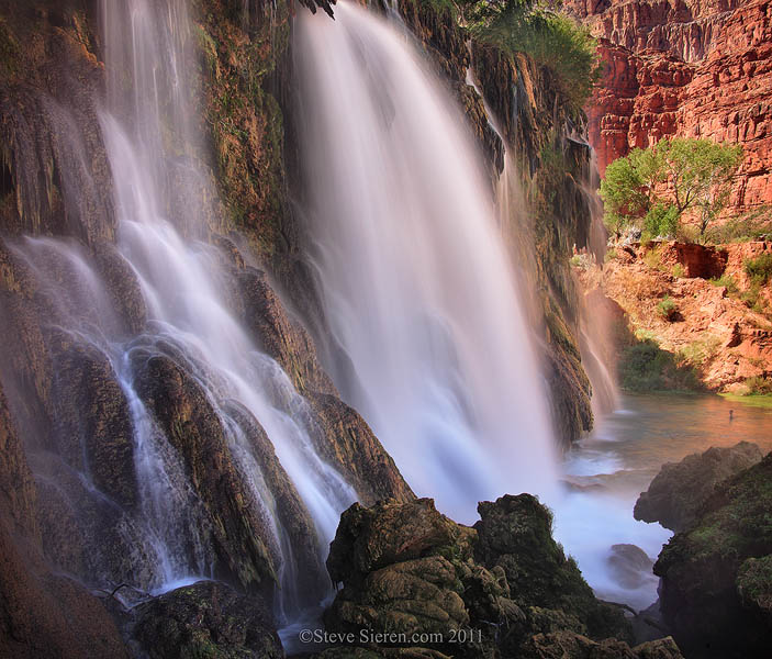 New Navajo Falls - Havasu Canyon - Grand Canyon West