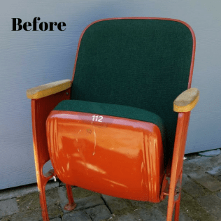 Theater Chair before
