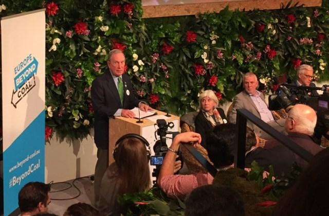 Michael Bloomberg at COP22