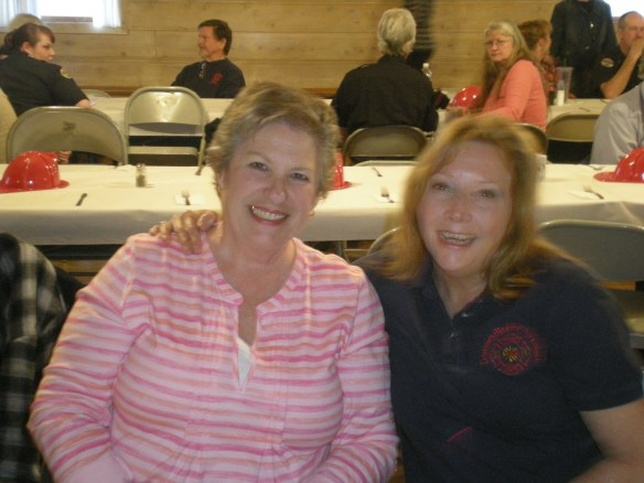 DVFD Auxiliary members Kathy Whitlow and Loryce Ashby