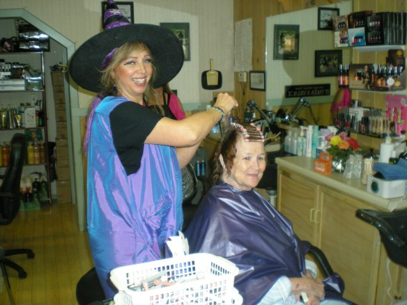 Downieville Day Spa's Chief Beautymagician Kathy Fischer