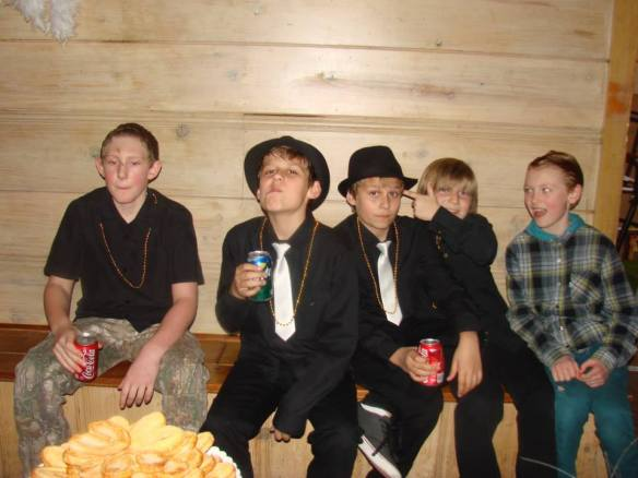 Gangsta kids at the Ball