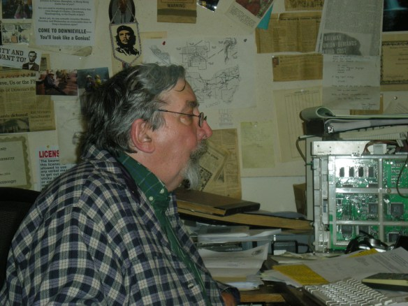 Don Russell, Editor Emeritus, still has issues with figuring out how this computer thingy works...