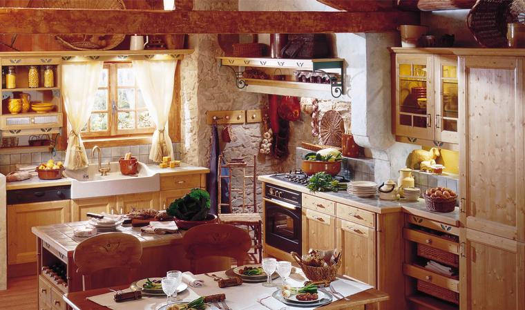 Vintage Country Kitchen Decor