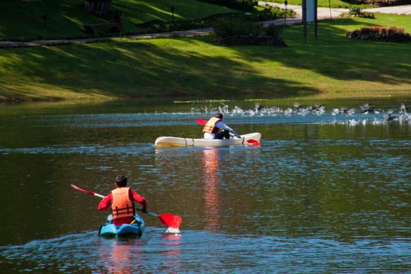 Kayak, Actividad que puedes realizar en un lago