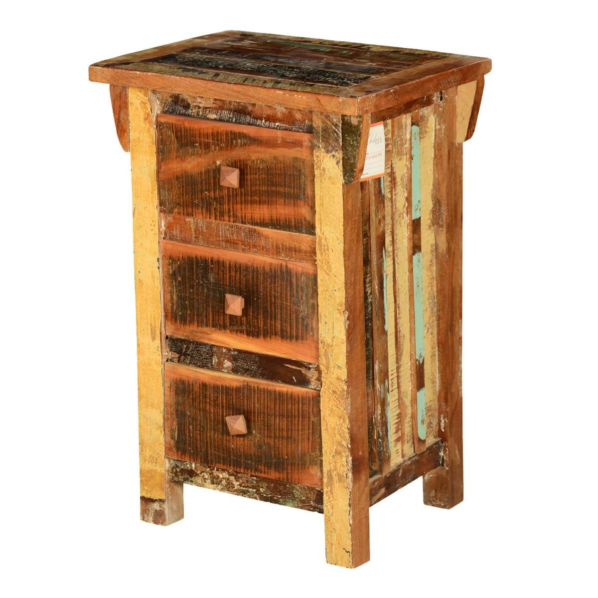 Reclaimed Wood End Tables