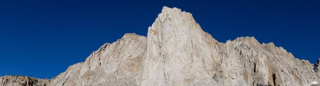 Incredible fin of clean granite.