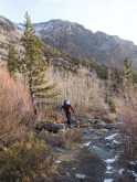 8300' in Lundy Canyon on 4/11