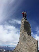 Milk Bottle summit of Starlight Peak