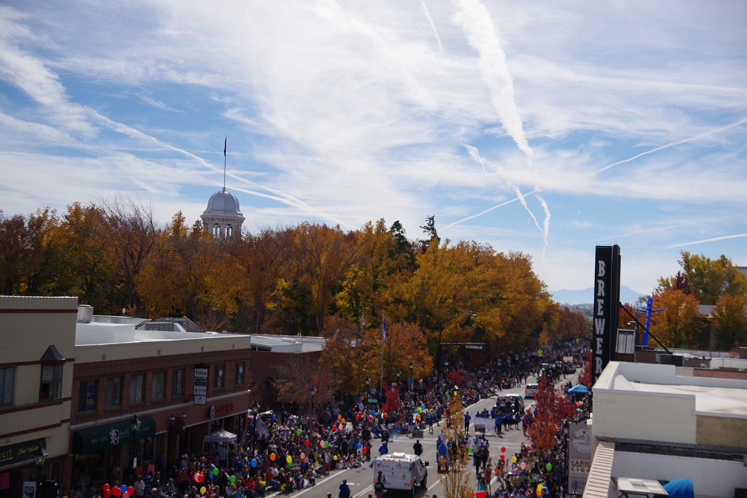 The Nevada State Capitol during the 2018 Nevada Day Parade - image - the Wizard of Od, NCN.