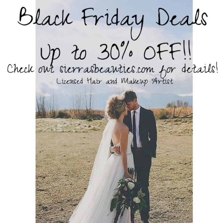 BLACK FRIDAY DEALS!!