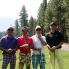Low-score winners: (L to R): Guy Bien, Ian Birrell, Christian Newman, and Ryan Clark