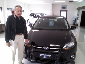 Victor Covarrubias has improvement plans for local Ford dealership.