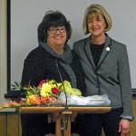 Linda Arcularius and Pat Gardner