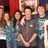 Maggie Kingsbury, Audrey Bear, Amanda Kirkeby, Lex Brode, Angie Flores, Connor Kusumoto, Garrett Hallomm, Olivia Grah and Luan Mendel. Photo courtesy Ed Nahin