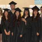 (L to R) Uriel Jimenez, James Baldwin, Vanessa Alma Jimenez, Trisha Salazar, Cole Means, Kenia Flores, Griselda Ortiz, Lauren Patridge, Jeff Griffiths, Shelby Dolim, Shaelan Cruise, and Brian Grevenkamp.