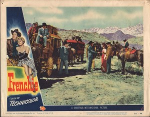 Frenchie  Lobby Card