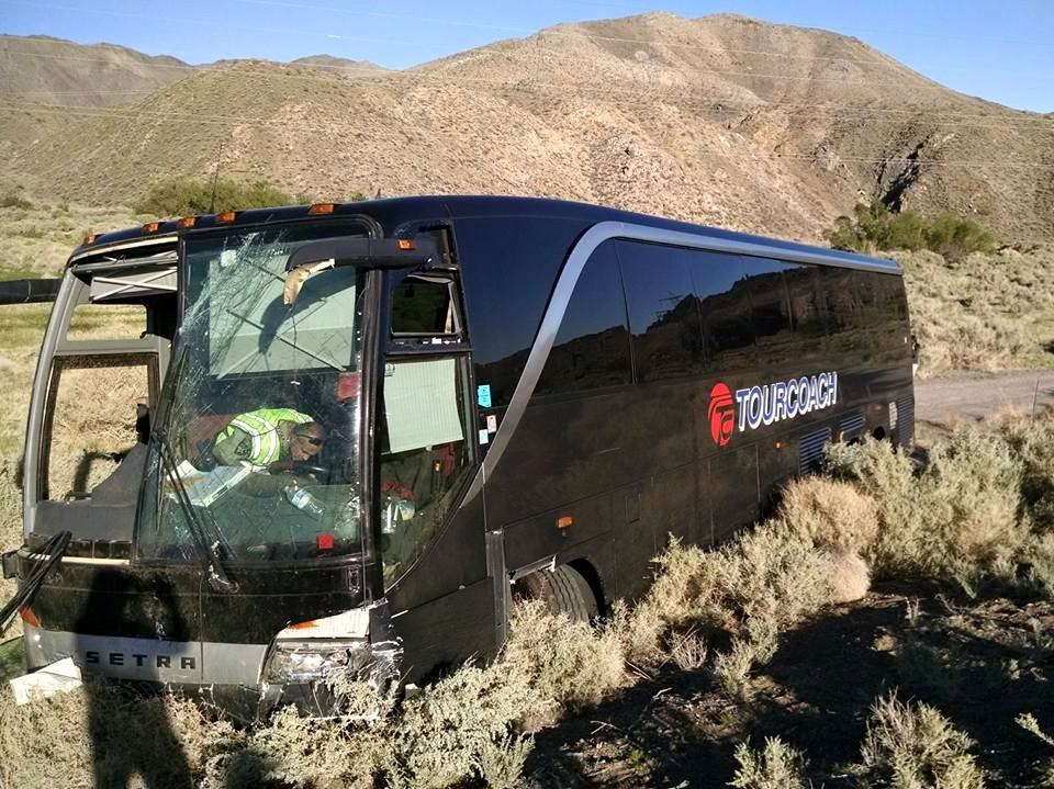 Bus carrying BUHS students crashes