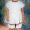 Irene Button at age 4. NPS/Irene Button Collection)