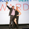 John Urdi, MLT Executive Director and Whitney Lennon, MLT Marketing Director receiving the U.S. Travel Association Destiny Award.