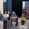 Cast of Into the Woods Rehearsing a Song