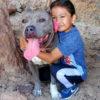 Raymond with his dog Yuhubi
