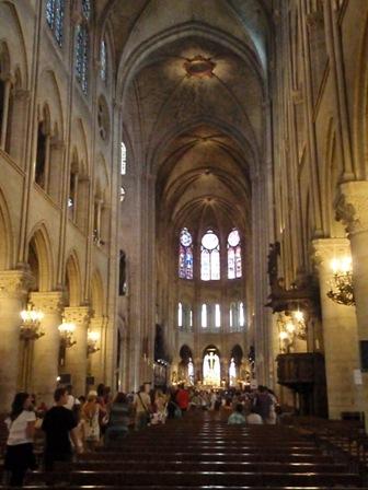 Notre-Dame vnútri