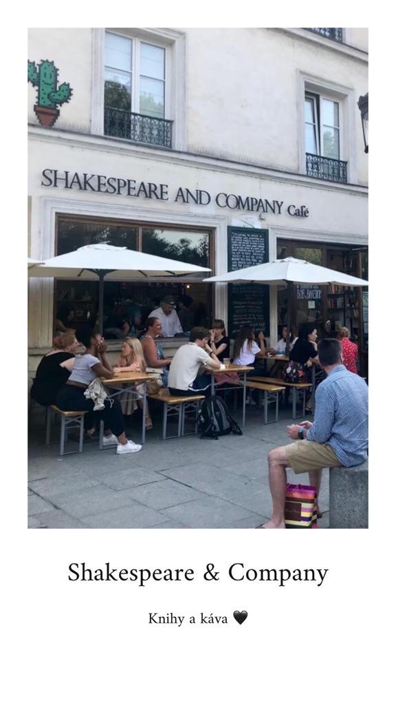 leto v Paríži Shakespeare & Company