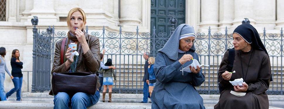 Jedz, modli sa a miluj