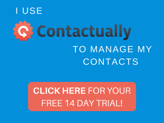 Try Contactually to manage your contacts -- 14 Day Free Trial