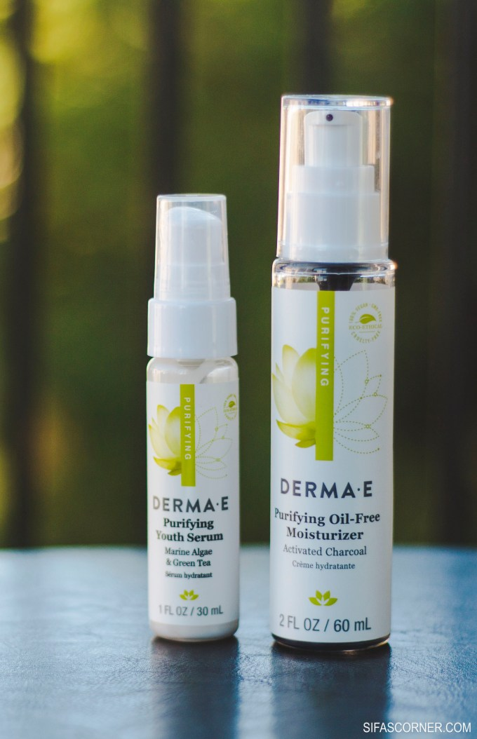 skin care products 2017- derma E