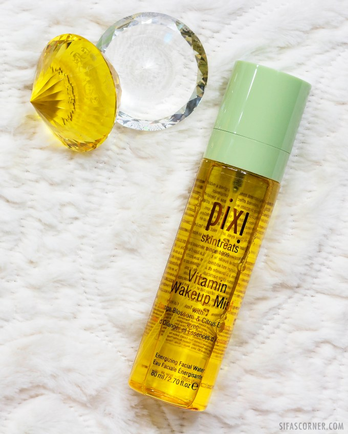 pixi beauty vitamin wake up mist review