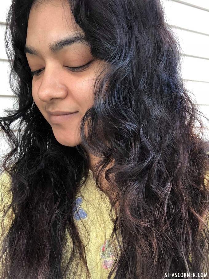 natural wavy curly hair