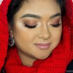 Monochromatic Bronze Makeup