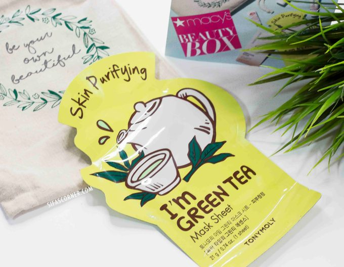 macys-beautybox-tonymoly green tea mask
