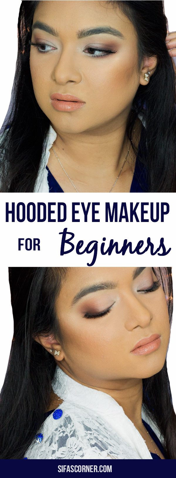 Hooded Eye Makeup with Morphe Jaclyn Hill