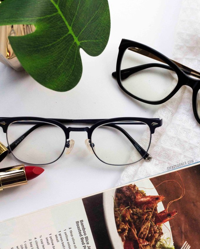 zenni eyeglasses for heart shaped face