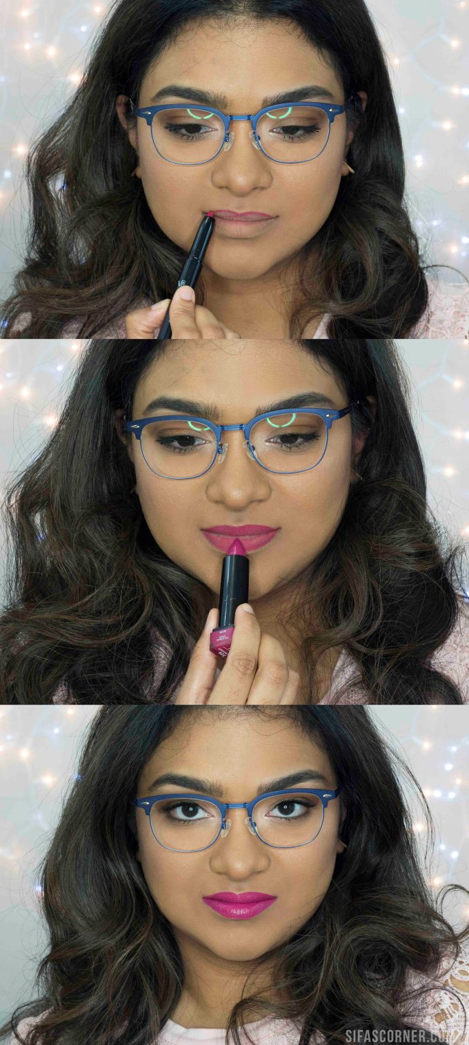 how to do makeup for glasses