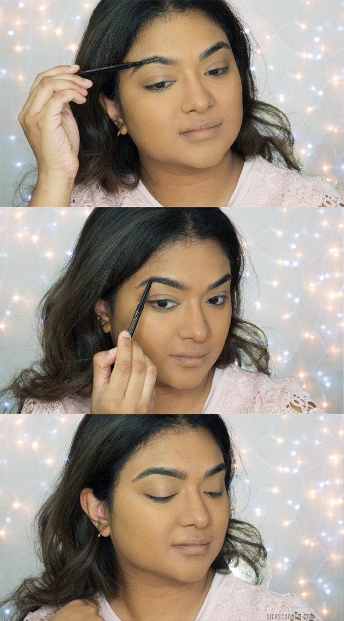 how to do makeup for glasses- EYEBROWS