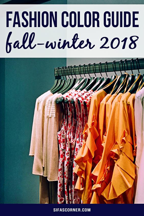 fall-winter fashion color guide