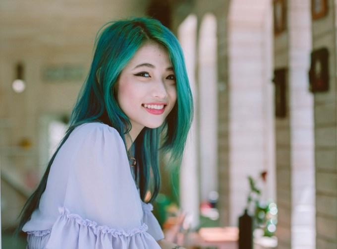 hair color ideas- mermaid