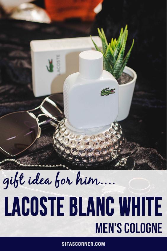 Kohls Perfume Gift Idea- lacoste blanc