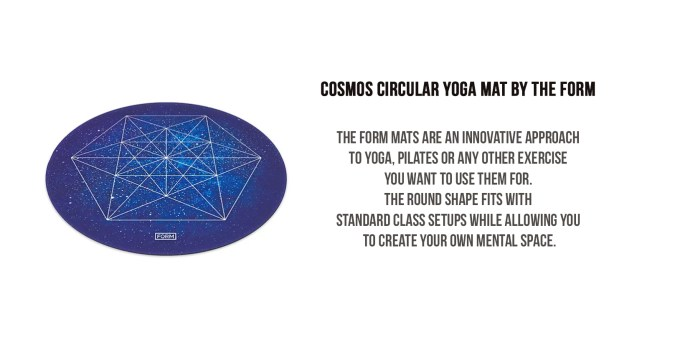 gift guide for fitness lover-the form yoga mat
