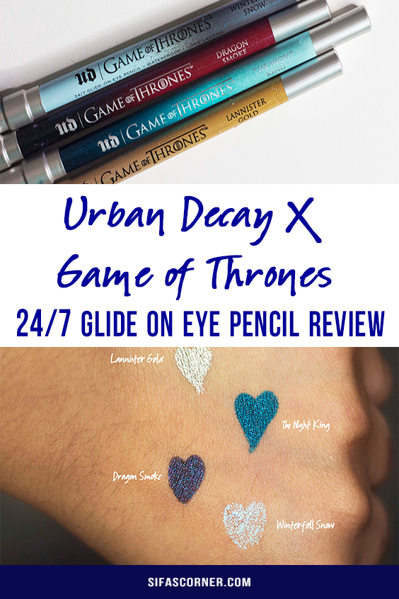 Urban Decay| UDxGOT | GAME OF THRONES COLLECTION- lip cheek stain